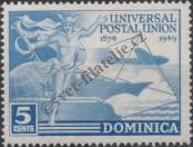 Stamp Dominica Catalog number: 112