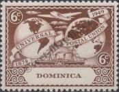 Stamp Dominica Catalog number: 113