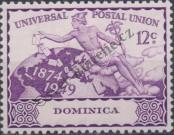 Stamp Dominica Catalog number: 114