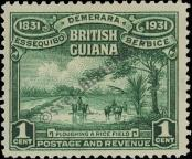 Stamp Guyana Catalog number: 151
