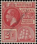Stamp Guyana Catalog number: 129