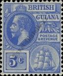 Stamp Guyana Catalog number: 131