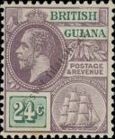 Stamp Guyana Catalog number: 134