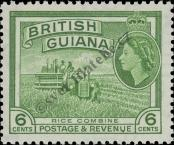 Stamp Guyana Catalog number: 204