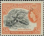 Stamp Guyana Catalog number: 207